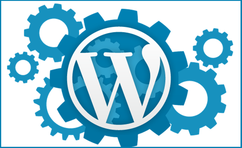 We build websites using WordPress