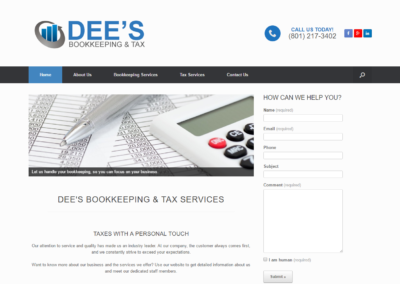 Dee's Bookkeeping and Taxes